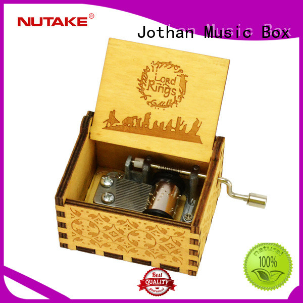 NUTAKE Best mini hand crank music box manufacturers bulk production