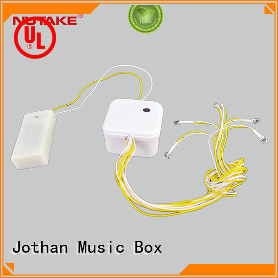 Latest custom tune music box washable for business bulk production