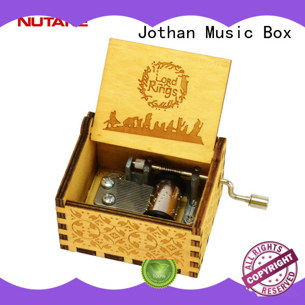 NUTAKE antique wooden music box factory best rated