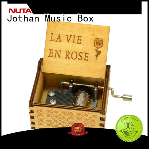 NUTAKE engraved music box for business bulk production