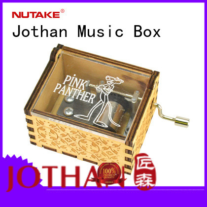 Wholesale small hand crank music box factory buy now