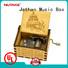 Wholesale mini music box hand crank Supply buy now