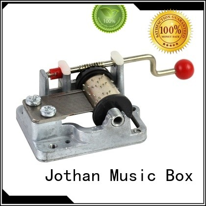Best crank music box mechanism handle company manufacturing site