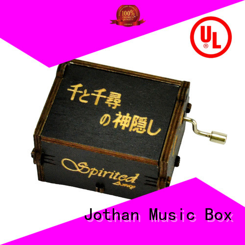 NUTAKE wooden box for music box Supply manufacturing site