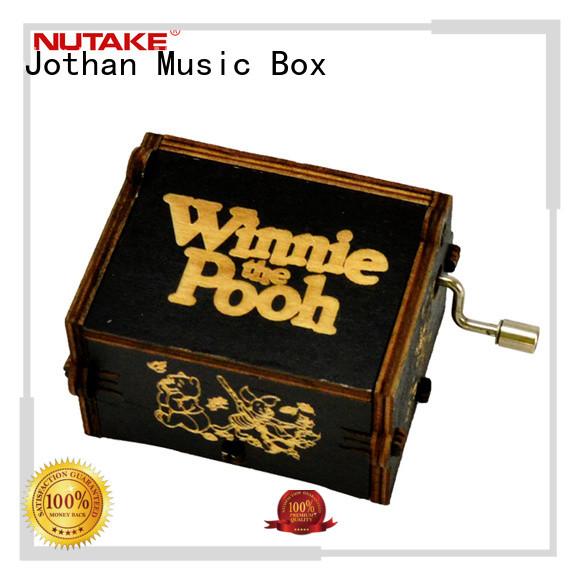NUTAKE New hand crank music box custom factory features