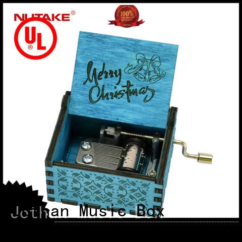 NUTAKE mini hand crank music box company buy now