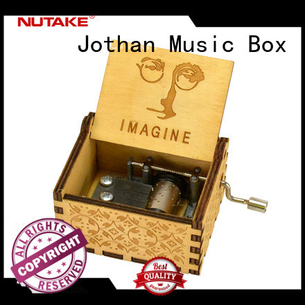 Top small wooden music box manufacturers for sale