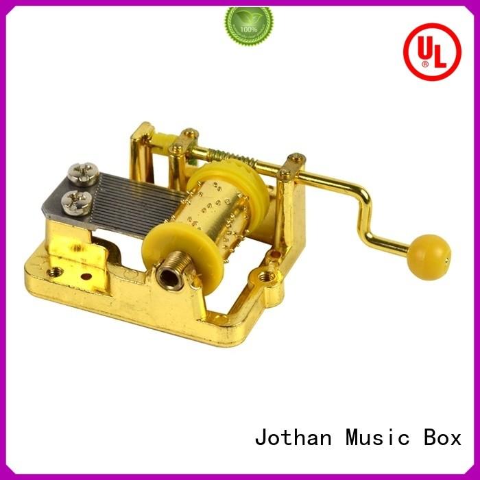 NUTAKE Custom hand crank wooden music box for business brands