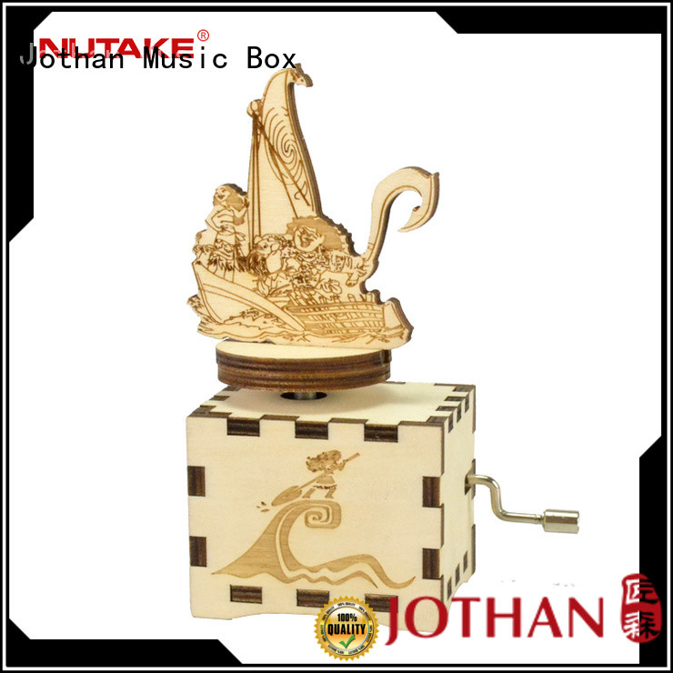 NUTAKE hand crank music box company top rated
