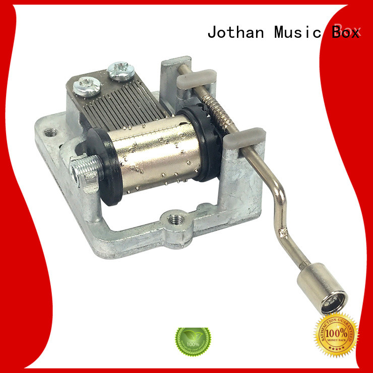 High-quality music box movement parts hand Supply brands