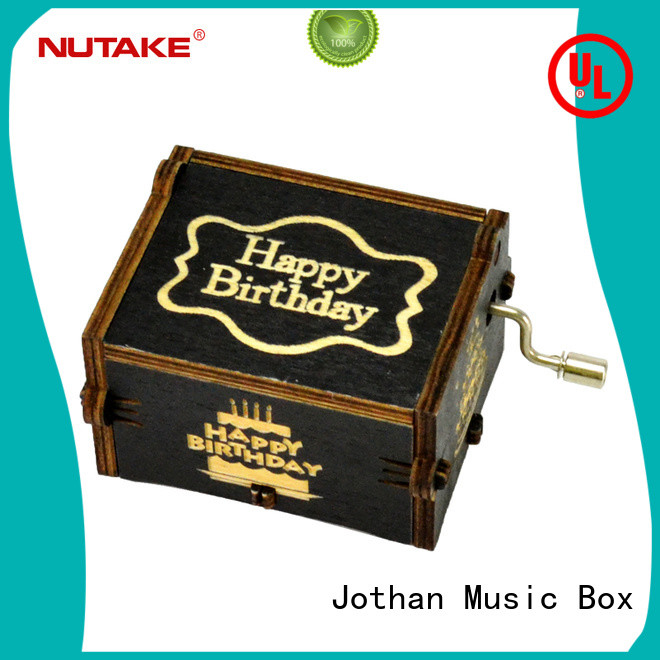 NUTAKE clockwork music box Suppliers features