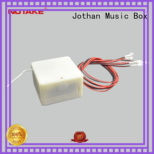 NUTAKE Top music box kits parts company features
