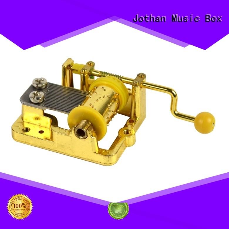 Top mini hand crank music box mechanism Supply bulk production