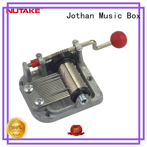 NUTAKE parts wind up christmas music box factory manufacturing site