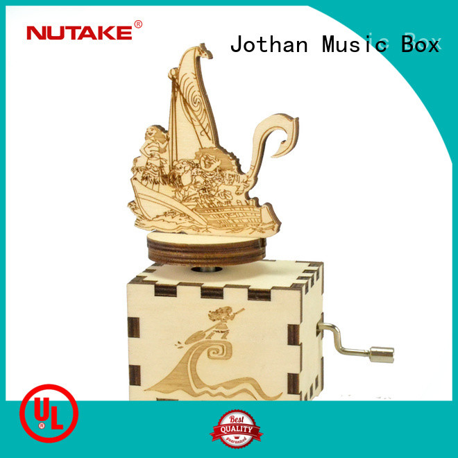 NUTAKE Best mini music box hand crank Suppliers for sale