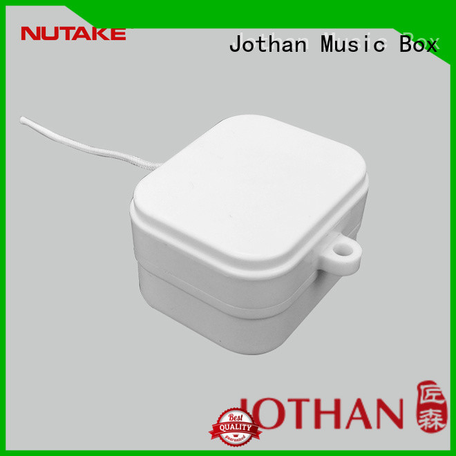 NUTAKE New music box mechanism parts factory bulk production