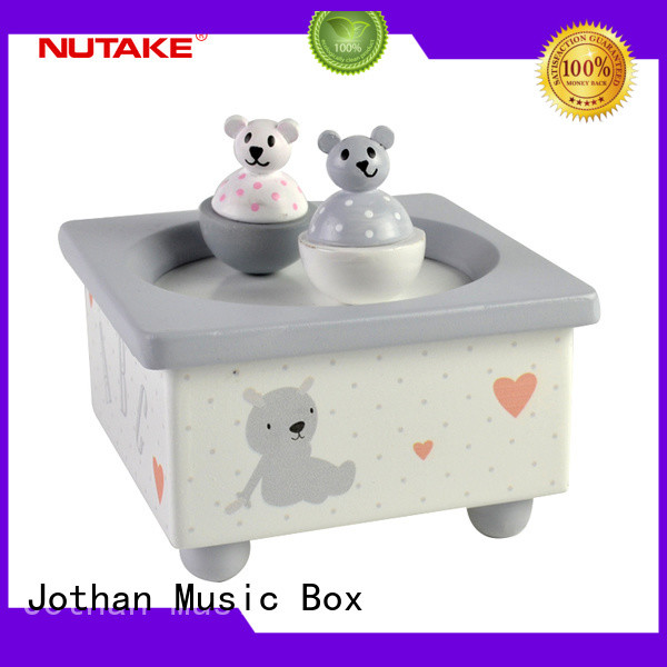 Wholesale children's wind up music box for business how much